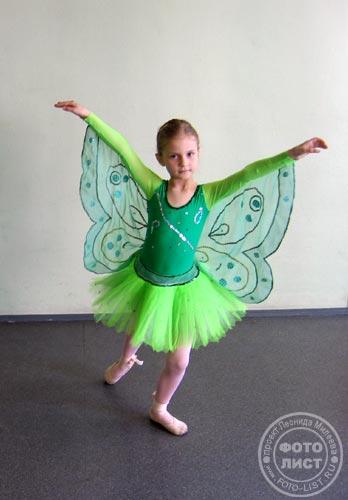 Костюм бабочка для девочки своими руками